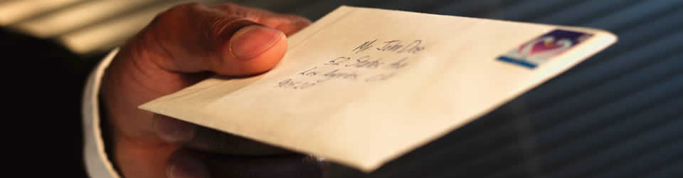 Une lettre de Dieu pour toi